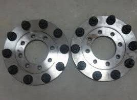 Diamond T Enterprises - 10 Lug Dually Wheel Adapters, Chevy/GMC (1973-00) 2500-3500 (front only)
