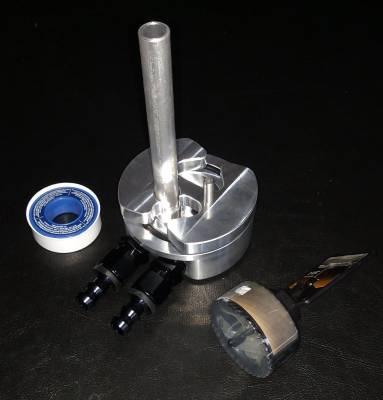 Diamond T Enterprises - Fuel Tank Bottom Sump Kit with Integrated Return